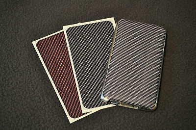 Carbon Fiber Ipod Touch Case - CARBON FIBER Decal for iPod Touch & iPhone - vinyl