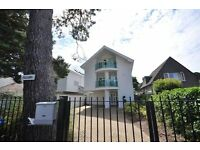 SANDBANKS: Spacious and Luxurious five bedroom detached house, offering private garden and balcony