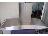 GAGGENAU EXTRACTOR HOOD WITH CHIMNEY - COLLECT ONLY TW2 AREA