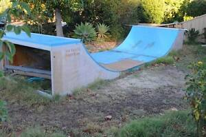 Half Pipe Skate Ramp Karrinyup Stirling Area Preview