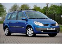 2005 Renault Grand Scenic 1.6 VVT Dynamique 5dr+7 SEATER+MPV+12 MONTHS MOT+SERVICE HISTORY