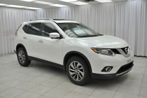 2015 Nissan Rogue 2.5SL AWD SUV w/ BLUETOOTH, HEATED LEATHER, NA
