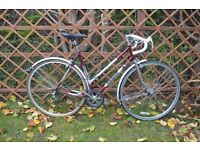 """Ladies Townsend racing bike - 21"""" frame (53cm). Six speed. Fully serviced. Ready to ride away"""