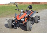 BRAND NEW 2017 350CC ROAD LEGAL MANUAL QUAD BIKE ASSEMBLED IN UK DELIVERY AVAILABLE 17 PLATE OUT NOW