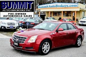 2009 Cadillac CTS 4 | AWD | Power/Heated Leather Seats | Bluetoo