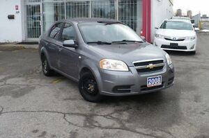 2008 Chevrolet Aveo LS  CERTIFIED & E-TESTED