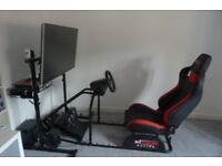 Gaming chair - GT Omega Pro Racing Simulator