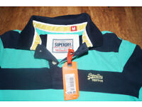 Brand New SuperDry Polo Tshirt Size M