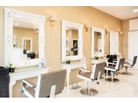 Stylist Chairs for rent in Chiswick hair salon