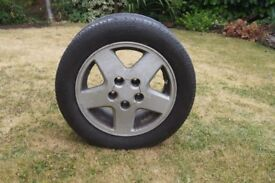 set of 4 toyota MR2 Mk 2 original wheels, 2 x rear with tyres. 2 front without tyres