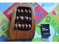 Fair Trade wooden foot massager