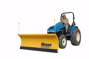 Brand New Meyer Utility Tractor Snow Plow - Meyer Lot Pro Snowplows for Utility Tractors!