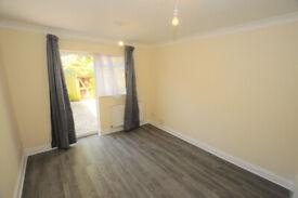 2 bed 2 en suite shower room garden flat with new kitchen