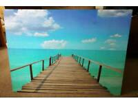 Large canvas jetty