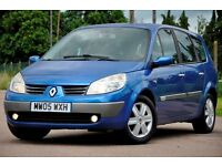 2005 Renault Grand Scenic 1.6 VVT Dynamique 5dr+MPV+7 SEATER+JUST SERVICED+FULL SERVICE HISTORY
