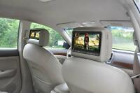 Appui Tetes DVD en cuir! / Leather headrests with DVD!