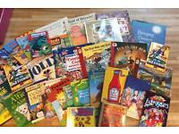 Children's book bundle inc. cd's & audio **more books added**