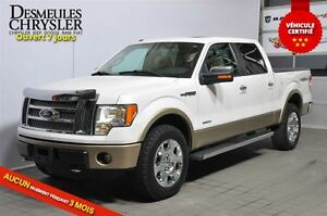 2011 Ford F-150 LARIAT**ECOBOOST**CAMÉRA RECUL