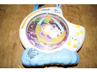 VTECH SLEEPY SWEET DREAMS MUSICAL COT BABY NIGHT LIGHT PROJECTOR