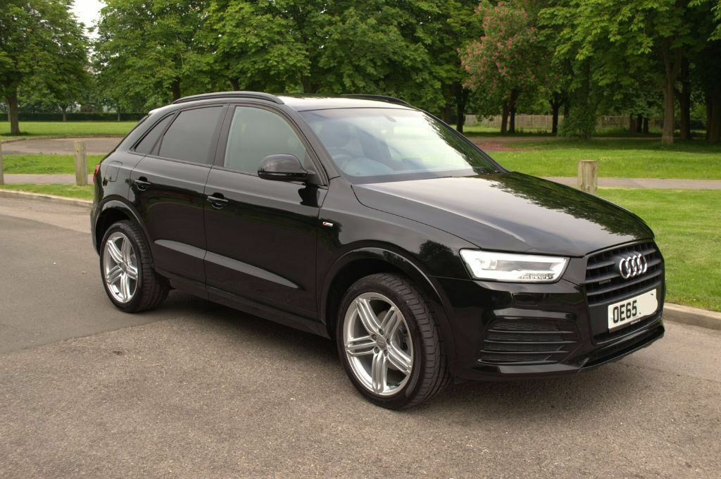 as new audi q3 s line plus quattro 184ps lots of extras. Black Bedroom Furniture Sets. Home Design Ideas