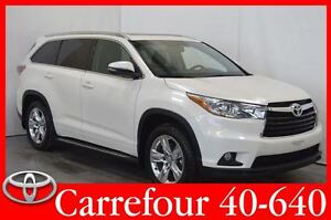 2014 Toyota Highlander Limited Cuir+Navigation+Toit Ouvrant 7 Pa