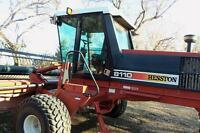 Hesston 8110 Swather