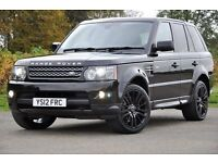 2012 Land Rover Range Rover Sport 3.0 SD V6 HSE 4x4 5dr +1 OWNER FROM NEW+FREE WARRANTY