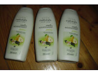 NEW 3 BOTTLES OF AVON NATURALS WONTER NOURISHMENT SHAMPOO'S