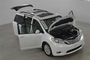 2013 Toyota Sienna Limited GPS+DVD+Cuir+Toit Pano+Camera de Recu