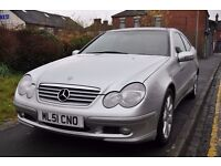 MERCEDES BENZ C CLASS 2.1 C220 CDI 2DR (LEATHER SEATS)