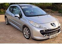 2006 PEUGEOT 207 GT 1.6 THP Panoramic Roof / NEW 12 MONTHS MOT 95285 MILES HPI CLEAR / DRIVES 100%