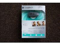 WEBCAM Logitech C270 Brand New Never Been Used