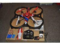 RC Radio Control Quadcopter, Syma 6 Gyro, 4 channel RC.
