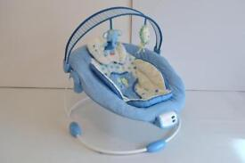 baby bouncer vibrating seat mothercare.