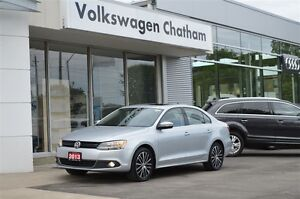 2013 Volkswagen Jetta Highline Heated Leather Sunroof Touch Scre