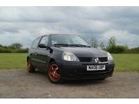 Renualt Clio 1.2 - Good Condition for Year - Bluetooth Radio and Aftermarket Speakers