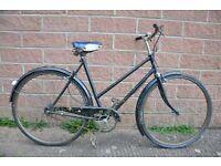 Vintage Ladies Town Bicycle