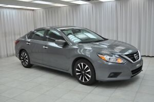 2018 Nissan Altima 2.5SV SEDAN w/ BLUETOOTH, HEATED SEATS / STEE