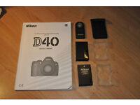 Nikon D 40 Manual - ML-L3 Remote - Battery EN-L9