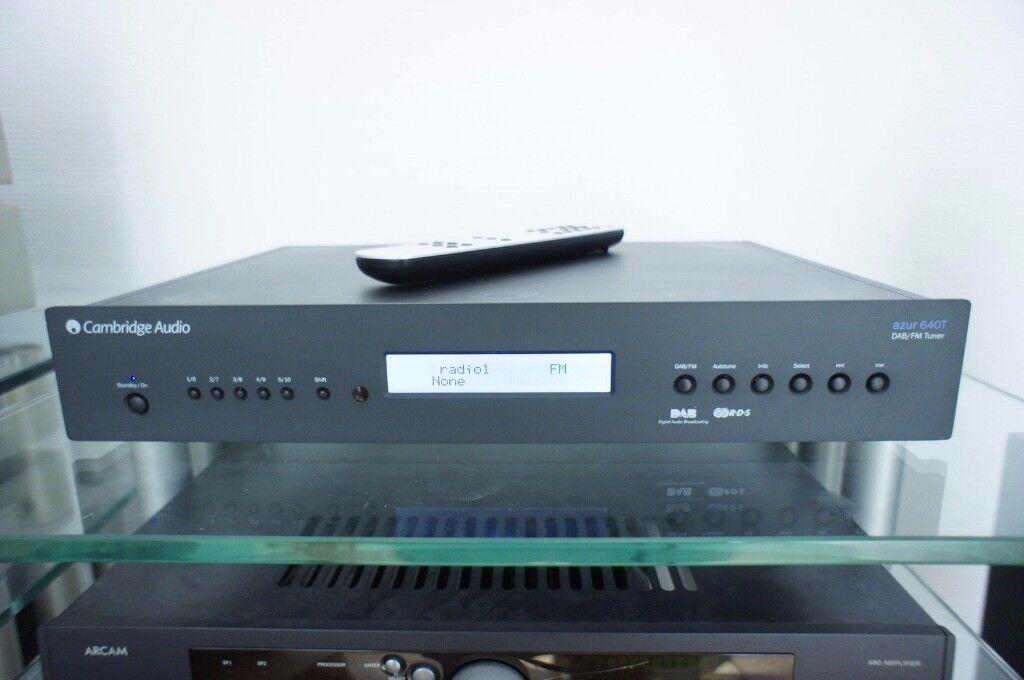 Cambridge Audio 640T V2 DAB Tuner + Remote & Instructions