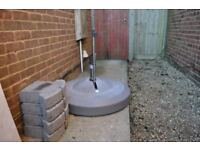 100 Kg Liro Base for large parasol or cantilever sun shade