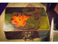 Ornate Lacquered Jewellery Box
