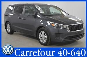2017 Kia Sedona LX+ Sieges Chauffants+Camera de Recul 8 Pass.