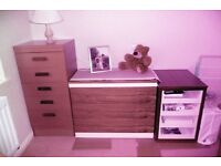 Three Chests of Drawers