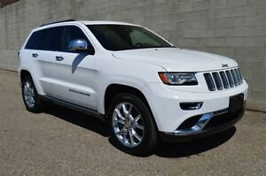 2016 Jeep Grand Cherokee Summit 4x4 w/rear dvd