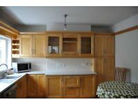 Solid Maple Kitchen in Excellent Condition