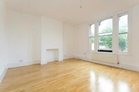 A large newly refurbished two bedroom split-level flat in a superb location on Church Street.