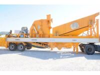 Mobile Pre-Screening Crusher for sale.