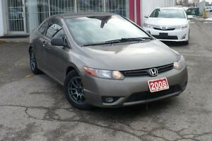 2008 Honda Civic DX-G  CERTIFIED & E-TESTED CLEAN CARPROOF
