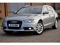 2012 Audi A6 Avant 3.0 TDI SE Multitronic 5dr+DIESEL+FREE WARRANTY+LEATHER+SAT/NAV+AUTO+NEW SHAPE